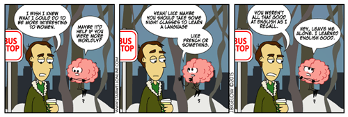 brains learning language web comics - 8422801408