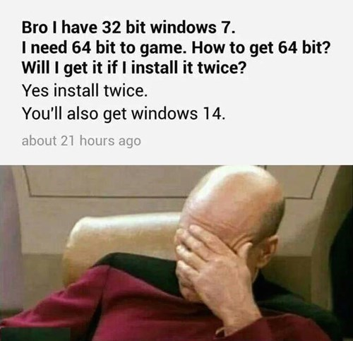 PC,facepalm,gamers