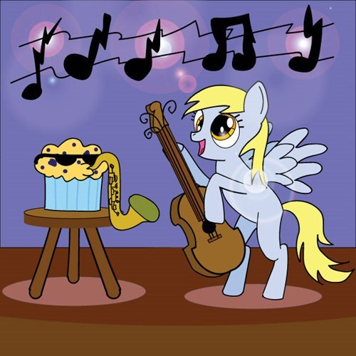 derpy hooves rainbow rocks muffins - 8422805760