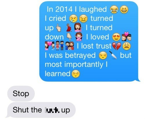 emoji,new years,text