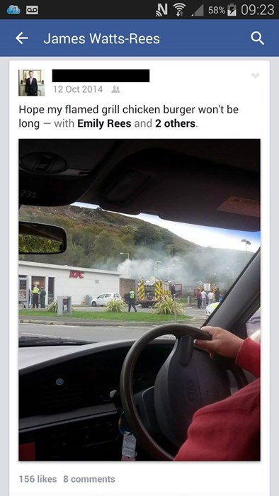 chicken fire kfc failbook g rated - 8422947584