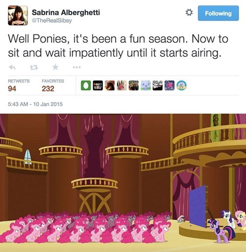 hiatus intensifying MLP waiting game - 8423554560