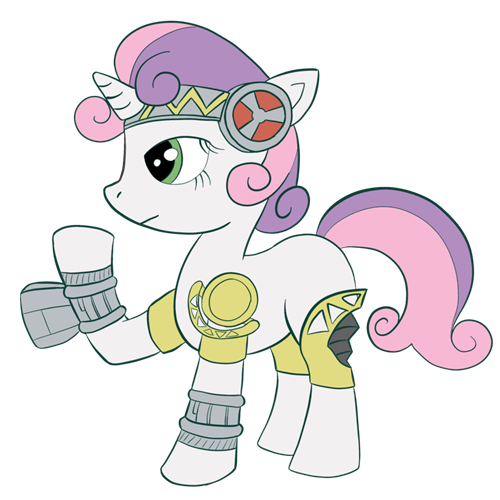 upgrade Sweetie Belle sweetie bot - 8423639808