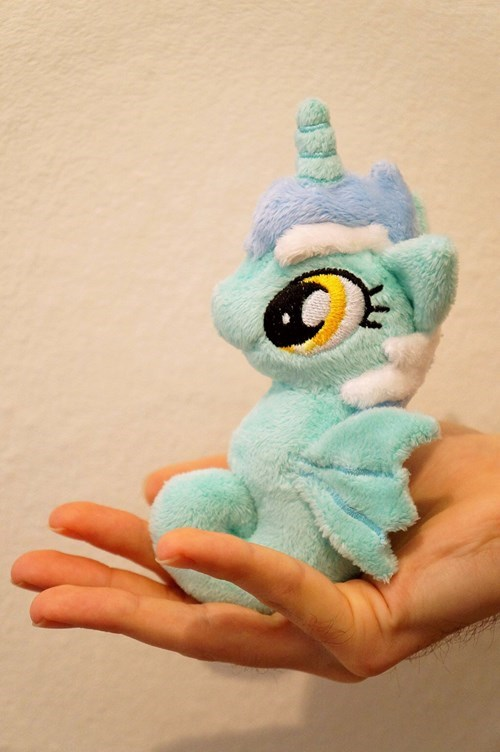 lyra,Plushie,cute,sea pony