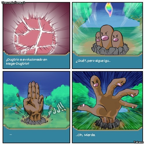 hands diglett wednesday web comics mega dugtrio - 8424198656