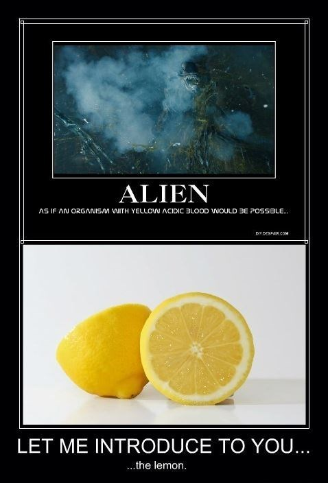 Blood alien funny lemon - 8424207872