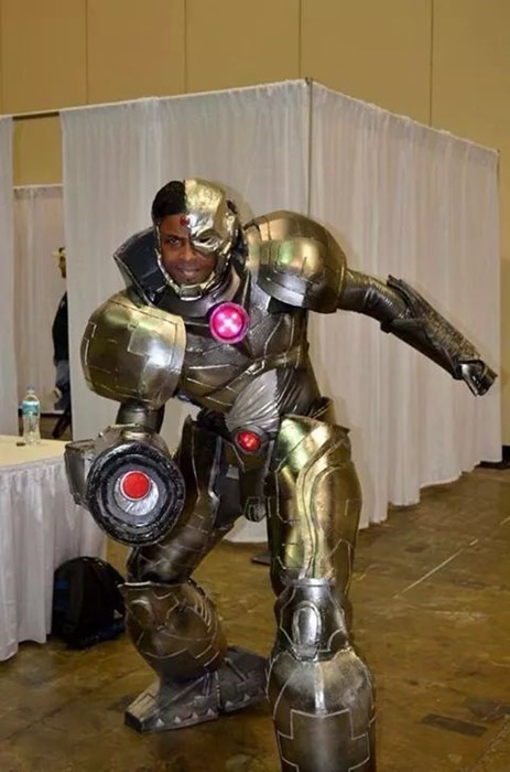 cosplay cyborg - 8424276736
