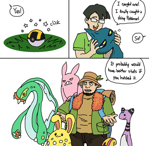 Pokémon shinies - 8424334848