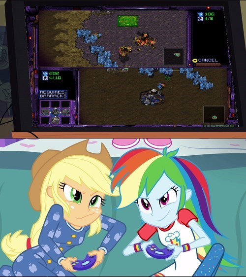 applejack friendship ender rainbow dash - 8424424448