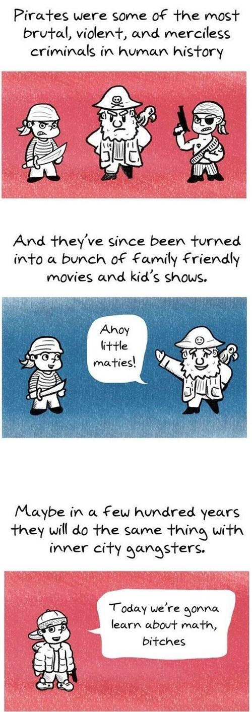 gangsta pirates math funny Rage Comics - 8424482816