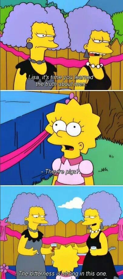 men Lisa Simpson the simpsons funny - 8424493056