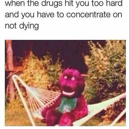 lsd drugs barney funny - 8424606976