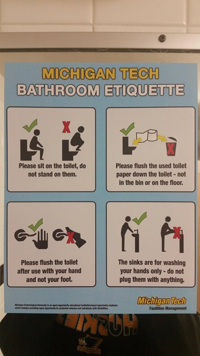 wtf,signs,toilet,idiots,funny,college,School of FAIL