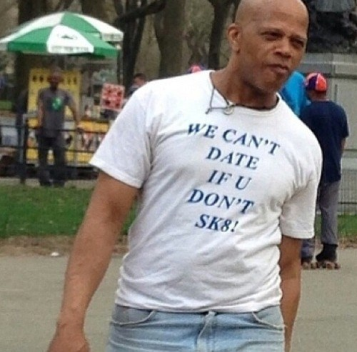 poorly dressed t shirts skating dating