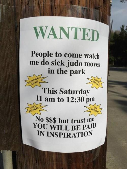 wanted,judo