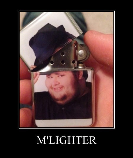 lighter,fedora,funny,m'lady