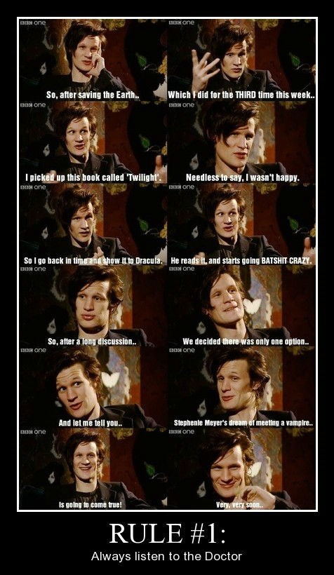 doctor who funny interview twilight - 8424964352