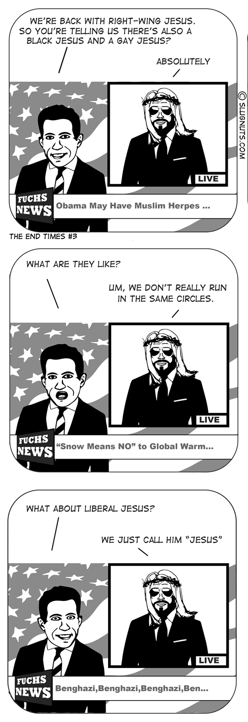 jesus,fox news,sad but true,web comics