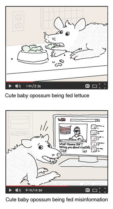 opossum possum sad but true critters web comics - 8425083904