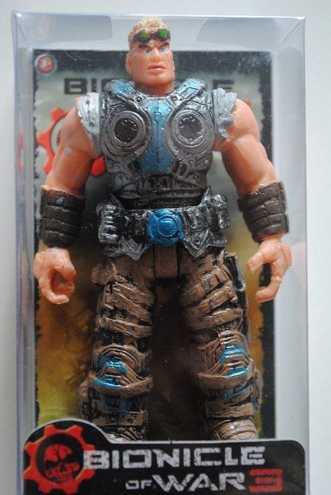 toys Gears of War knockoff