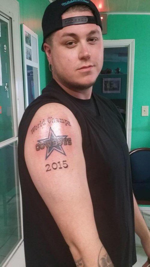 nfl dallas cowboys tattoos football fail nation g rated - 8425225216