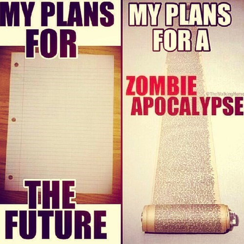 five year plan,zombie apocalypse,The Walking Dead