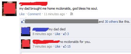 Awkward McDonald's food fast food - 8425247744