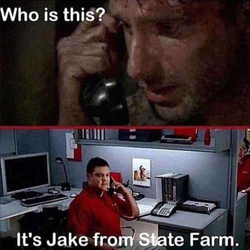 Rick Grimes insurance phone call - 8425253120