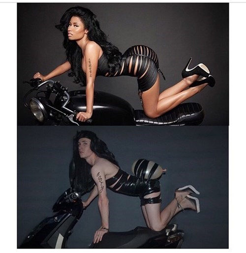 nicki minaj,Nailed It