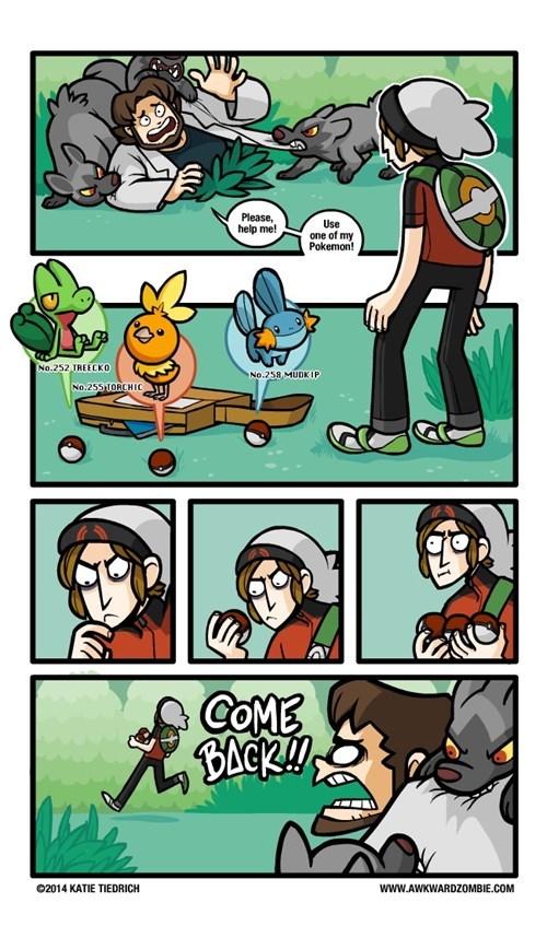 starters-gen-III Pokémon web comics - 8425517568