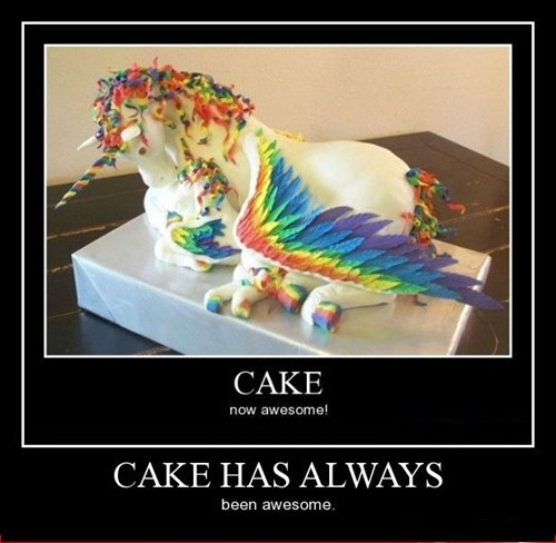 cake funny rainbow - 8425752064