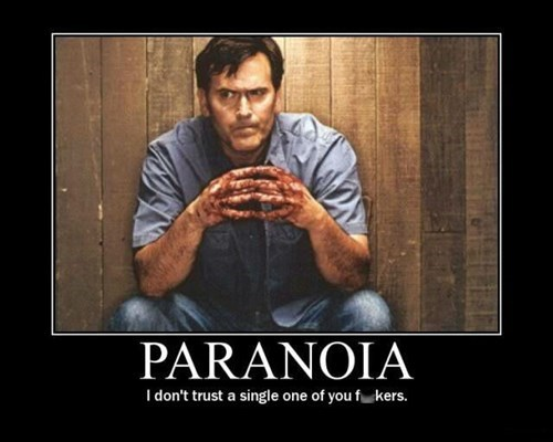 paranoia Movie evil dead funny - 8425753600