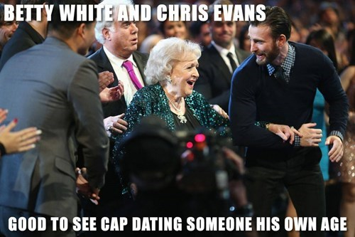 golden globes betty white captain america dating - 8425860096