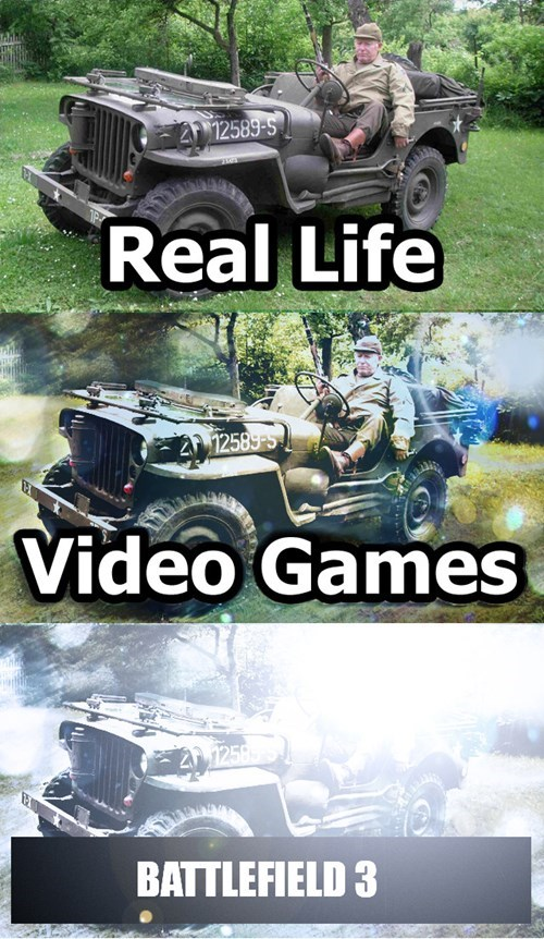 lens flare,Battlefield 3