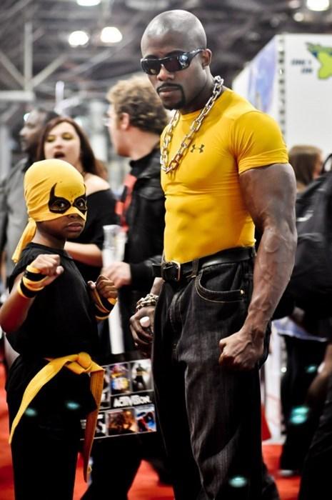 iron fist cosplay Luke Cage parenting - 8426003712