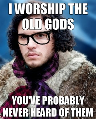 Jon Snow,Game of Thrones,hipster