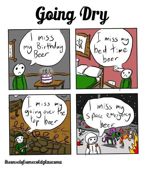 beer comics funny going dry - 8426025472