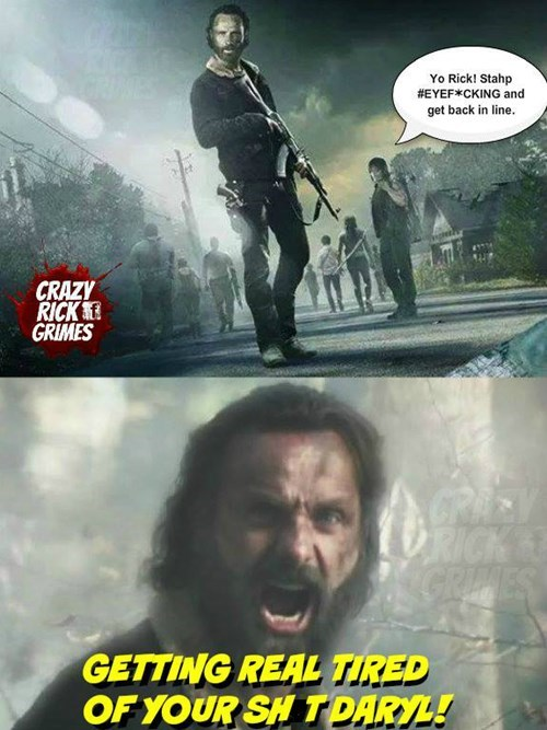 Rick Grimes fourth wall The Walking Dead - 8426028032