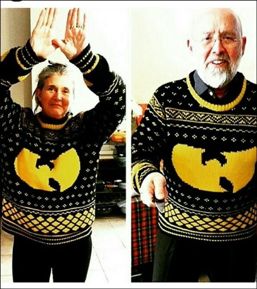 poorly dressed sweater Wu-Tang Clan - 8426049024
