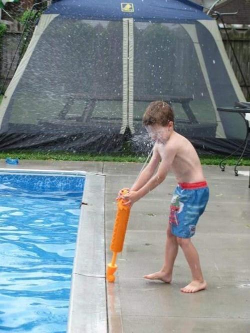 kids summer pool parenting squirt gun - 8426057984