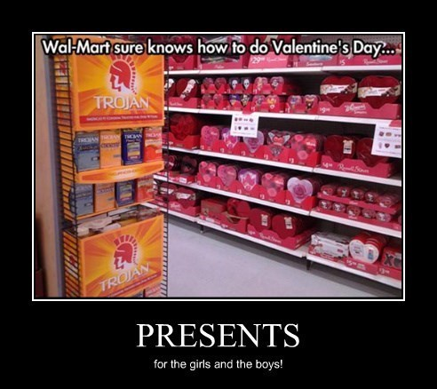 presents,boys,girls,funny,Valentines day