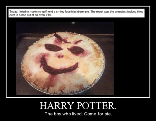 Harry Potter,pie,funny