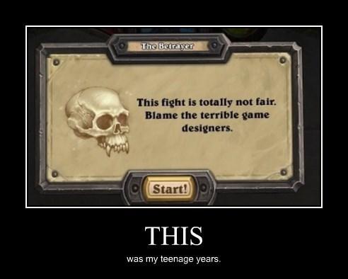 unfair teenage years designer funny
