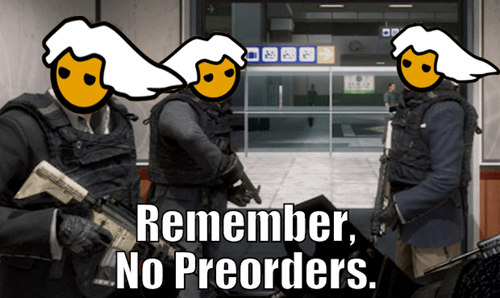 preorders call of duty