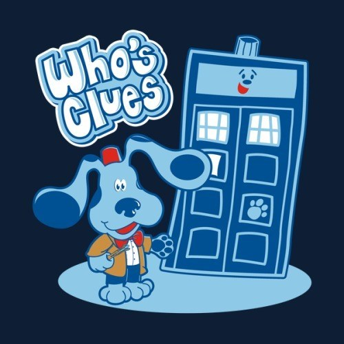 tshirts for sale doctor who blues clues - 8426902016