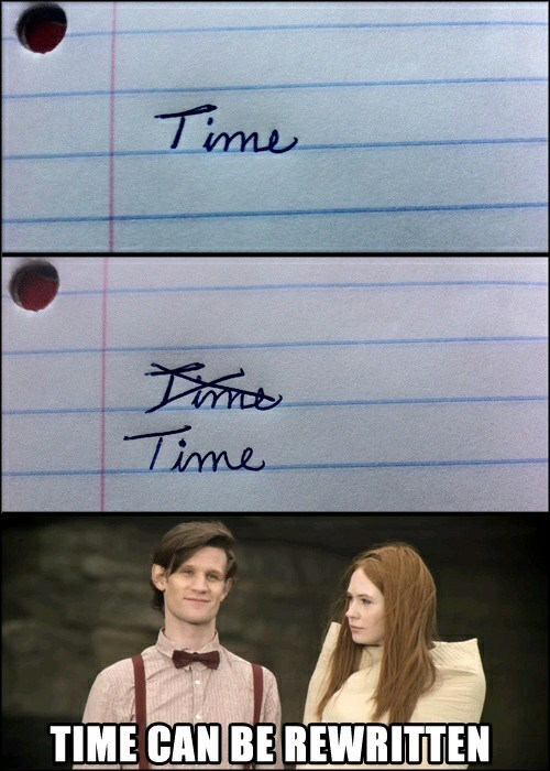literal amy pond time travel - 8426909696