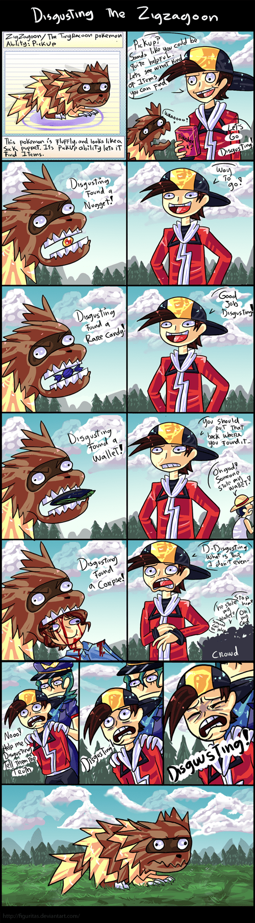 Pokémon zigzagoon abilities pickup disgusting web comics - 8426923264