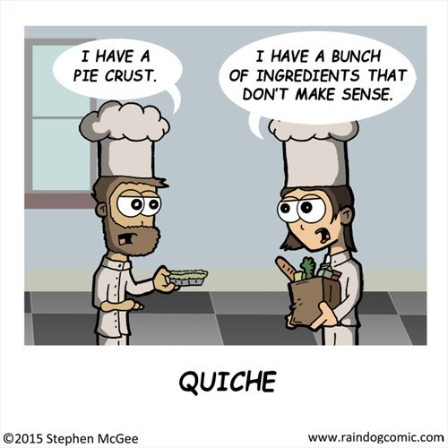recipes,food,web comics,quiche