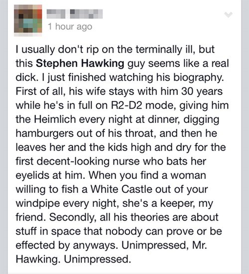 facepalm science stephen hawking failbook g rated - 8426960896