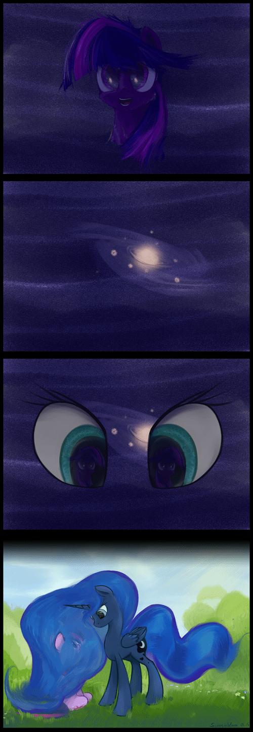Fan Art Astronomy princess luna stars - 8426977536